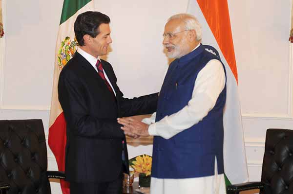 Permanent membership in reformed UNSC; Modi seeks Mexico's support