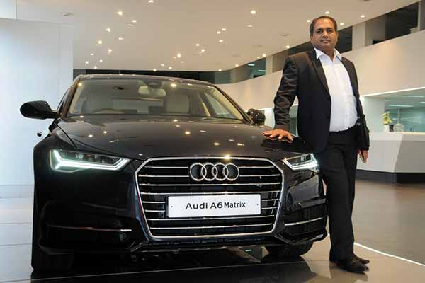 Audi drives in the new Audi A6 Matrix  NRInews24x7