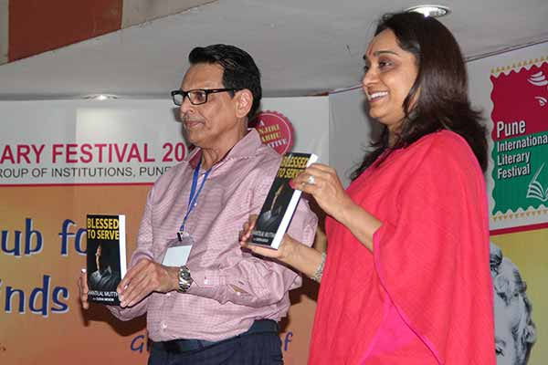 'Blessed To Serve', an inspirational autobiography of Philanthropist Shantilal Muttha
