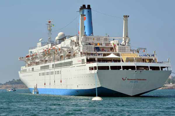 Thomson Celebration Cruise Ship To Homeport In Dubai For First - Thomson celebrity cruise ship