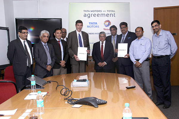 Tata Motors signs global agreement with Total Lubrifiants
