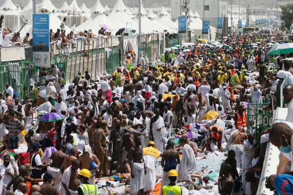 Hajj Stampede; Death toll comes to 769