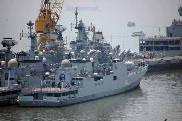 Visit of Indian Warships to Saudi Arabia