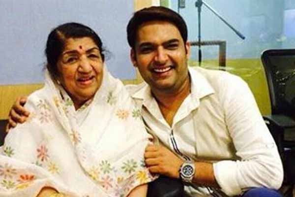 Melody queen Lata Mangeshkar wishes luck to Kapil Sharma for film debut