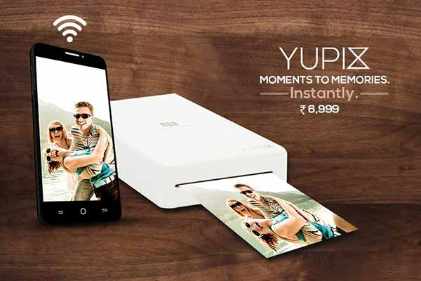 Yu YuPix Compact Printer for Android, iOS Launched