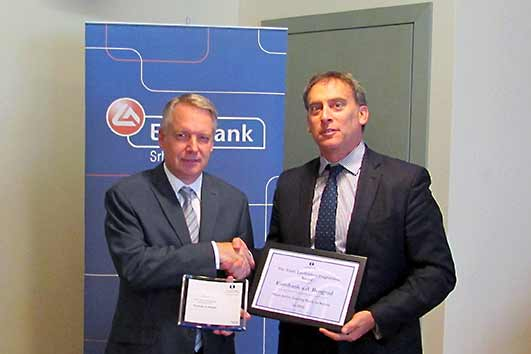 Eurobank a.d. Beograd receives EBRD trade finance award