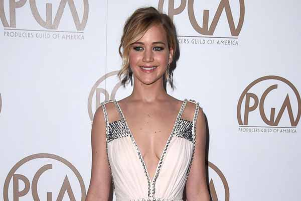 Highest paid actress title once again goes to Jennifer Lawrence
