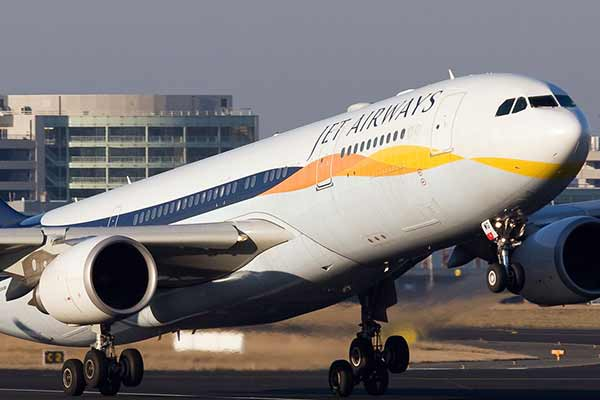 JET AIRWAYS REPORTS PROFIT IN THE FIRST QUARTER OF FY'18