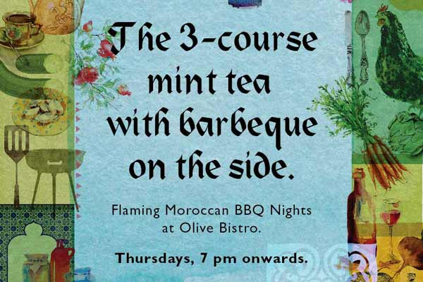 Olive Bistro - The Moroccan BBQ Night