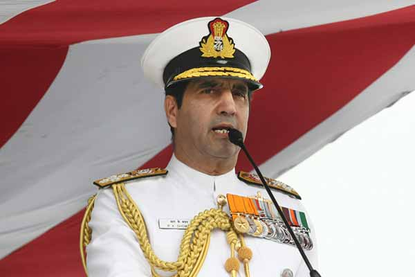 Chief of the Naval Staff in Kochi