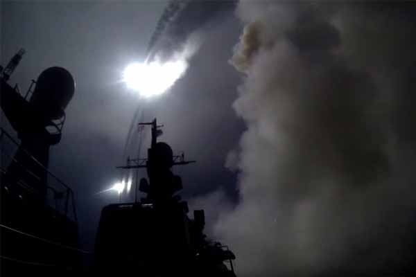First co-ordinated Syria offensive operation lead by Assad and Russia