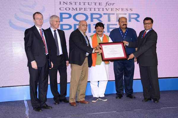 Tata Power is awarded the prestigious Porter Prize for Excellence in Corporate Integration & Governance