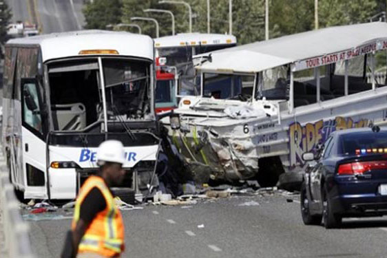 43 Dead as bus and lorry collide near Bordeaux; France's worst crash in 30 years
