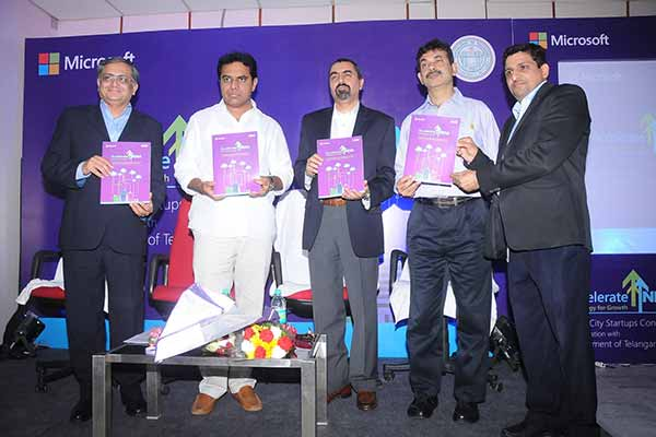 Microsoft brings together start-ups to offer solutions for Smart Cities in Telangana