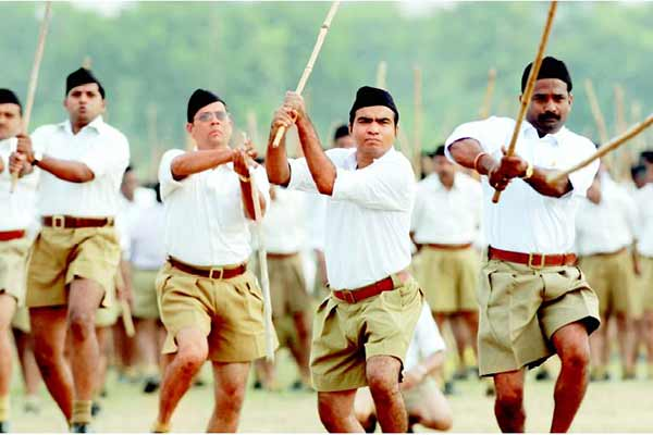 Congress: RSS distributed sweets on the day Mahatma Gandhi was assassinated