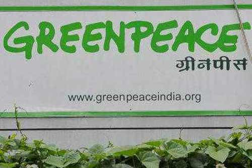 Greenpeace India, registration cancelled