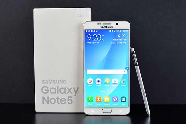 Samsung Note 5 comes ahead as most productive Android smartphone