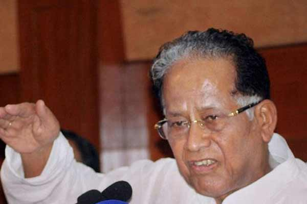 Assam CM Tarun Gogoi writes to President; Acharya has made Raj Bhavan a BJP office annexe
