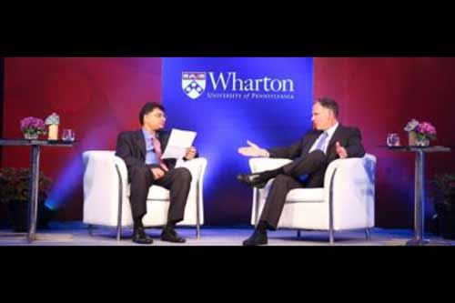 Dean of the Wharton School, Chairman of Infinite Computer Solutions Highlight Data-Driven Future at Global Conversations Tour
