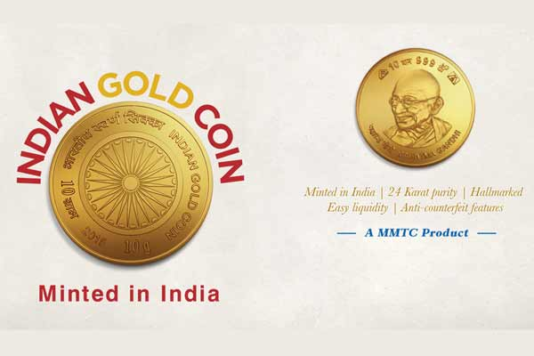 Prime Minister Narendra Modi launches 'Indian Gold Coin' and 'Indian Gold Bullion'