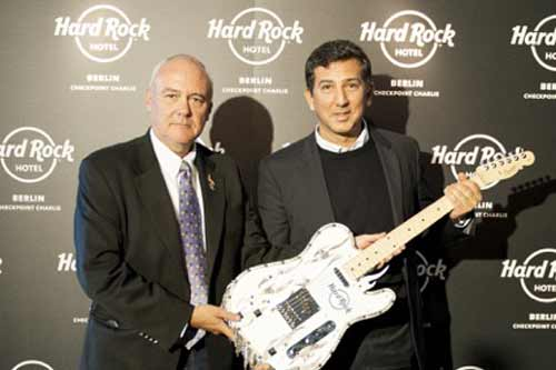 Hard Rock International and Trockland Development Group announce Hard Rock Hotel Berlin Checkpoint Charlie