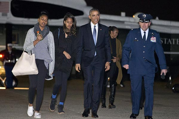 Over 70 Million USD, that's travel bill for Obama's presidential family holidays