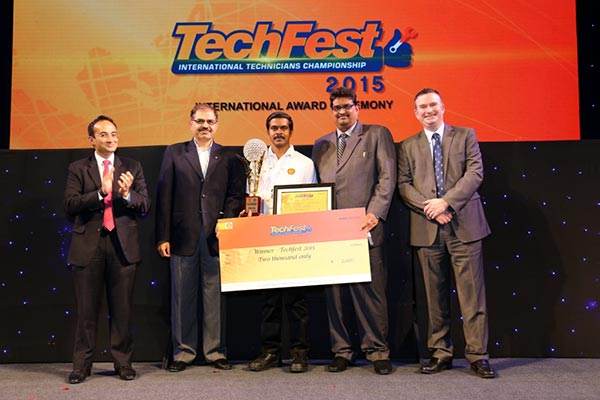 Shell Lubricants and Tata Motors announce the winner of Tata Global Techfest 2015