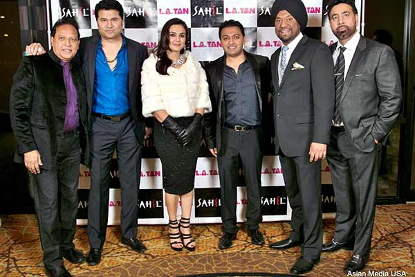 Sahil, L.A.Tan, and Starz Entertainment Presented New Year Bash 2016 with Bollywood Diva Preity Zinta as Star Attraction