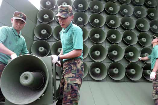 S Korea to resume loudspeaker propaganda broadcasts against Pyongyang
