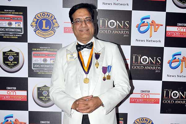 "22nd SOL Lions Gold Awards spearheaded by Lion Raju V Manwani & Lion Aneel Murarka with a view to support and encourage ""Swachh Bharat – Clean India"""