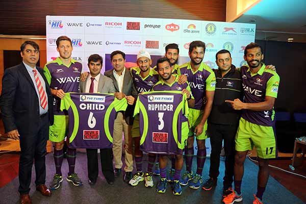 TVS TYRES associates with Delhi WaveRiders for Hockey India League