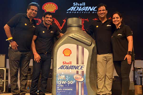 Shell Lubricants launches 'Shell Advance Ultra 15W-50' for heavier bikes in India