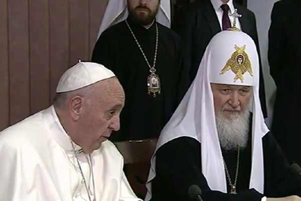 Historic pope-patriarch declaration