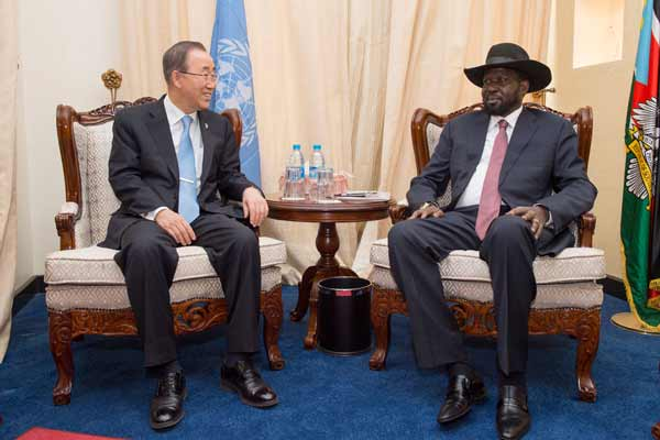 'Put peace above politics,' Ban tells leaders of South Sudan