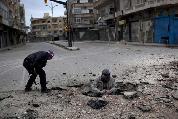 Syrian army recaptures town in Aleppo province