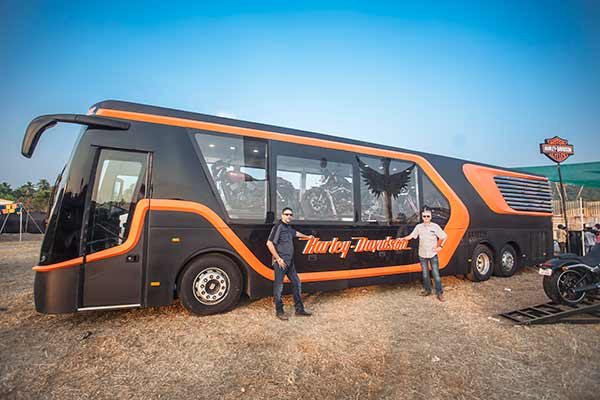 Harley-Davidson® India showcases its first mobile dealership – 'Legend on Tour'