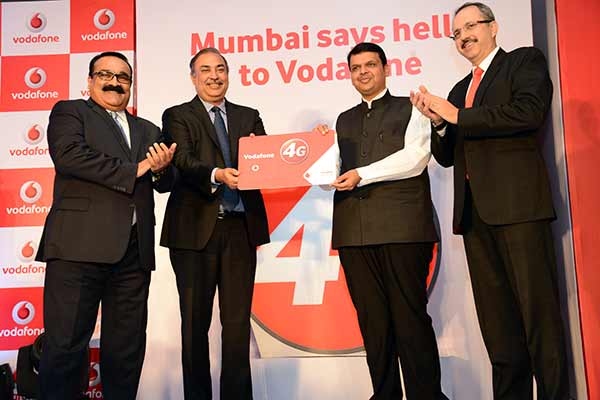 Vodafone India launches 4G services in Mumbai