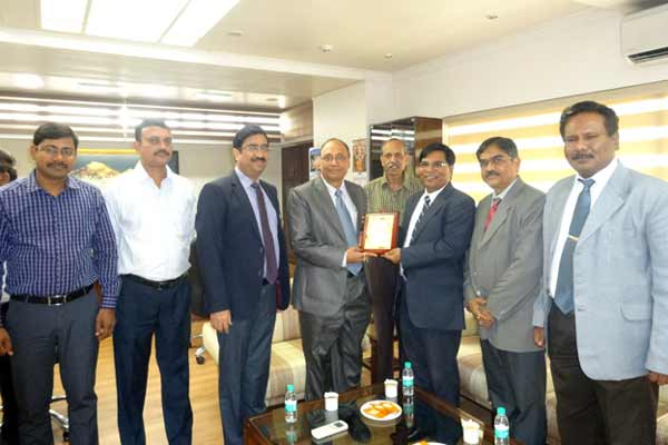 "Bank of Maharashtra has been awarded by ""Best Bankassurance Partner"""