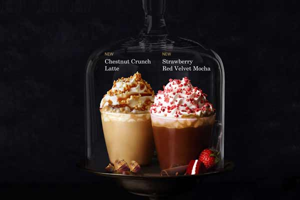 Celebrate special moments over a delicious cup of coffee with Starbucks' new Espresso Confections