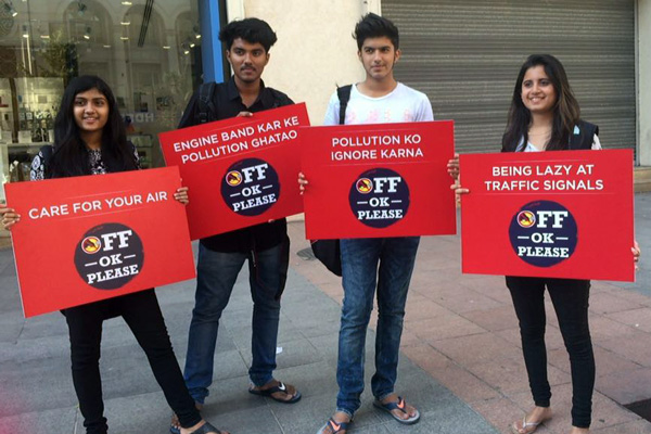 'Off Ok Please' says CredR in a social initiative to Combat Air Pollution
