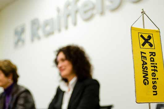 €35 million to Raiffeisen Leasing to expand operations
