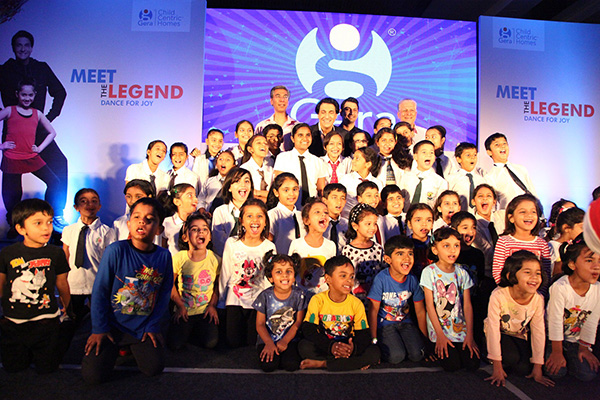 Gera's ChildCentricTM Homes hosts its third 'Meet the Legends' Event with internationally acclaimed dancer and performer Shiamak Davar