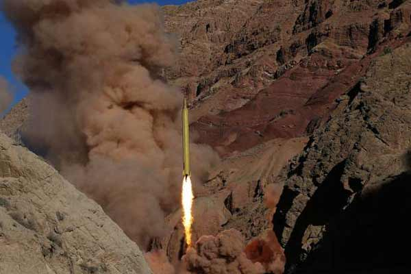 Iran's IRGC tests two ballistic missiles