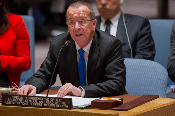 Libya 'needs to move ahead now, or risk division and collapse,' UN envoy tells Security Council