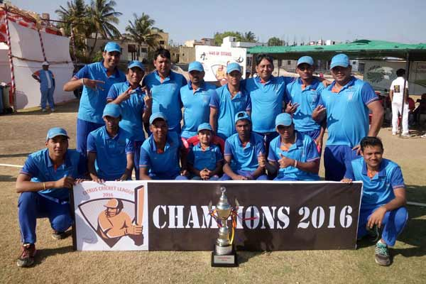 Broncos Bangalore walk away with the Citrus Cricket League 2016 trophy