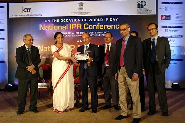 TCS wins the National Intellectual Property Award and WIPO Award 2016 for Innovative Enterprise