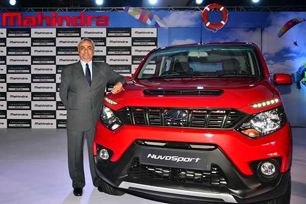 Mahindra launches the Sporty & Bold looking NuvoSport