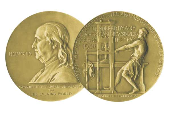 Pulitzer Prizes mark 100th year