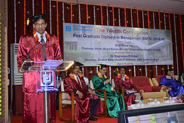 NIBM holds the 12TH PGDM (B&FS) convocation programme
