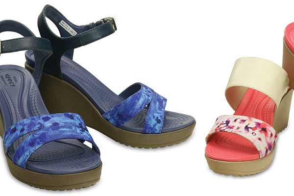 Crocs presents the new Women's Wedge Collection